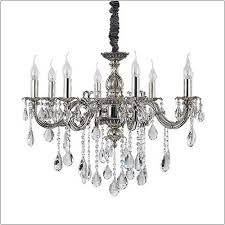 ideal lux impero antique silver chandelier sp8 014395