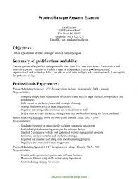 Briliant Product Manager Resume Summary Product Manager Resume