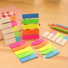decorative office supplies. 1 piece sticky post filofax memo pads office supplies school scratch stationery rainbow fluorescence index notepad decorative l