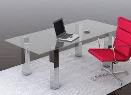 contemporary glass office furniture. House Design Ideas Modern Glass Office Desks Table Desk Contemporary Furniture