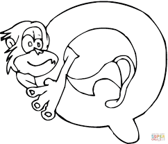 Small Picture Preschool Q Coloring Pages