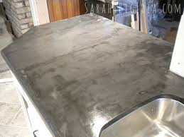 faux crete faux faux concrete countertop beautiful black countertops