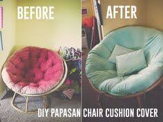DIY Papasan Chair Cushion Cover