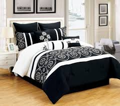contemporary queen size bedding sets modern lemon enchanting black and white comforter twin sheets interior bedroom