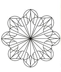 Facile Mandala Fleur Coloriage Mandalas Coloriages Pour Enfants