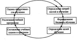 Реферат Организация системы обучения персонала  Модель систематического профессионального обучения персонала