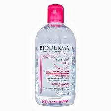 bioderma sensibio h2o makeup removing micelle solution 500ml bioderma h2o makeup remover