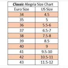 Alegria Size Chart Alegria Patent Leather Mary Jane Mules 40