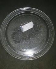 sharp half pint microwave oven. glass plate tray only for sharp half pint microwave ( blue ) model r - 120db oven