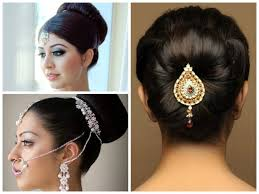 indian bridal hairstyle inspirational