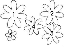 Paper Flower Templates Free Download Printable Paper Flower Template Free Download Them Or Print