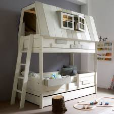 girls bed furniture. bedroom high treehouse bed beautiful white bunk two pillow lovely and of girls furniture