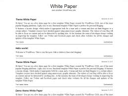Free White Paper Template White Paper Template Word 3 Template Format