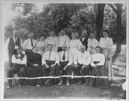 Mason Family Reunion 1909 - East Bloomfield NY