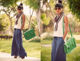 fashionista now how to turn an old skirt into palazzo pants