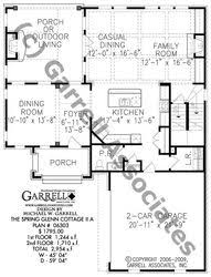78 best lake house plans images on pinterest lake house plans Lake House Plans With Pictures spring glenn cottage ii a house plan house plans by garrell associates, inc lake house plans with photos