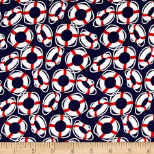 Nautical Home Decor Fabric Michael Miller Yacht Club Oh Buoy Navy Crafts Nautical And Quilting
