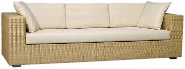 synthetic rattan sofa