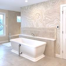 agate wall finis in bath project by chris vaught studios agate malachite geode and
