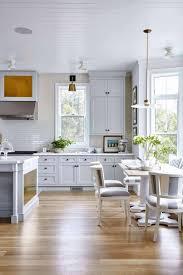 Light Cabinets Light Floors Architectures Kitchen Lighting Beautiful White Gray Floor
