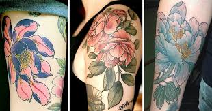 Peony, The <b>King of Flowers</b>   Tattoodo