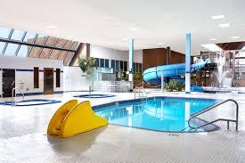 indoor pool with waterslide. Indoor Waterpark Pool With Waterslide L