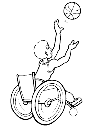 Coloring Page Sport Coloring Page Basketball Picgifscom