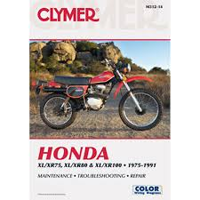 1978 honda xl75 wiring diagram 1978 image wiring clymer dirt bike manual honda xl xr75 xl xr80 xl xr100 on 1978 honda xl75 wiring