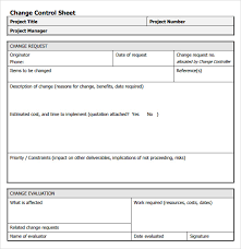 Project Change Order Template Sample Change Request 7 Documents In Pdf Word