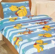 disney pooh cot bed duvet cover set