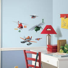 Bedroom Decorations With Disney Planes Fire And Rescue Wall Decals