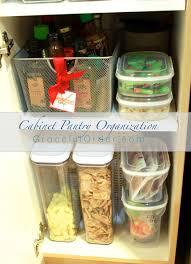 For Organizing Kitchen Pantry Cabinet Pantry Organization Graceful Order