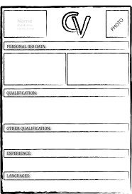 best ideas about resume form high school resume find this pin and more on resume blank resume forms resume templates