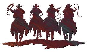 on cowboy metal wall art with western metal wall art at timberline