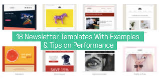 Edm Design Inspiration 18 Newsletter Templates And Tips On Performance
