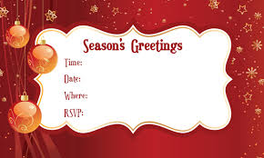 christmas invitation background info 25 wonderful christmas invitation card and wording samples emuroom