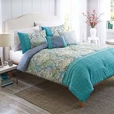 better homes and gardens comforters. Plain Gardens Inspiring Better Home And Gardens Bedding Wondrous Amazon Com Homes  Watercolor Damask 5 Piece On Comforters M