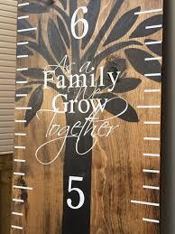 Pin By Kim Vantassel On Cricut Wooden Diy Growth Chart