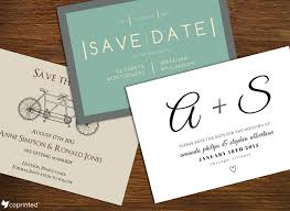 Coprinted Blog Printable Save The Date Invitation Templates