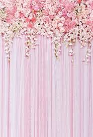Wedding Photo Background Pink Flowers Backdrop Photography Background Wedding Background Floral Photography Backdrops Dessert Table Decor Birthday Banner Backdrop 5x6 5feet