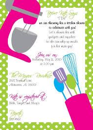Kitchen Bridal Shower Printable Kitchen Shower Invitations Bridal Shower Invitations