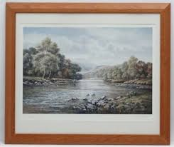Lot-Art   Fly-Fishing: Wendy Reeves (1945), Signed limited