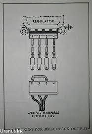 how to test alternator regulator allis chalmers 190xt farmersamm 1987 Ford Alternator Wiring at How To Test Alternator Wiring Harness