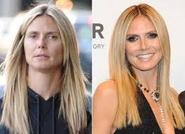 heidi klum before and after makeup look makeup tutorials makeuptutorials