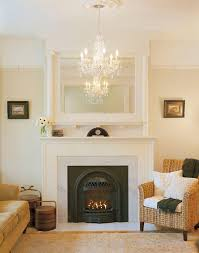 fake fireplace mantel living room victorian with chandelier fireplace mirror mirror above fireplace traditional