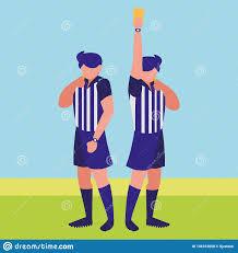 Referee Design Soccer Referee Design Stock Vector Illustration Of Arbiter