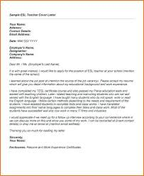 Example Of Cover Letter For Lecturer Position Cover Letter Faculty