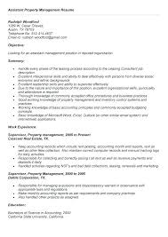 Manager Resume Objective Interesting Project Management Resume Objective Property Manager Resume
