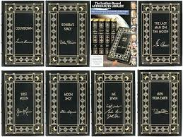 leather bound harry potter books set astronaut signed limited edition collection 7 volumes press kitchen nightmares