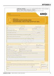 Workcover Incident Report Template Magdalene Project Org